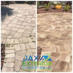 paver path before and after
